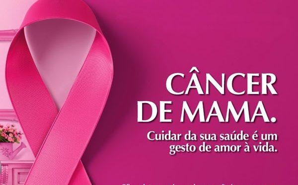 Secretaria de Saúde reforça conscientização do diagnóstico precoce do câncer de mama