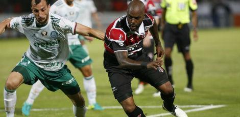 Palmeiras vence o Santa Cruz e agora abre três pontos sobre o Flamengo no Brasileirão