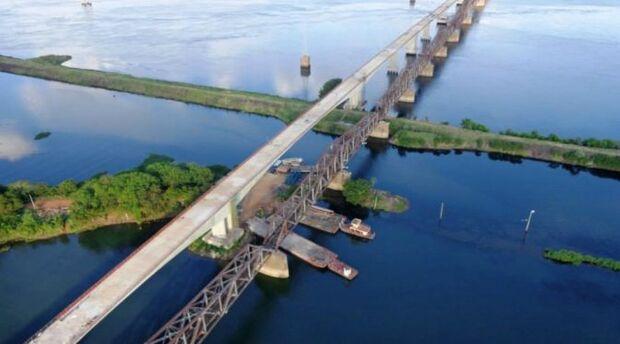 Reinaldo e ministro Quintella inauguram nova ponte entre MS e SP