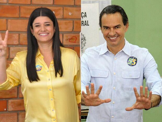 Rose e Marquinhos realizam caminhadas em bairros da Capital