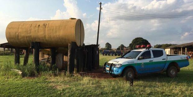 Fazendeira leva R$ 2,5 mil de multa por manter tanque de combustível irregularmente
