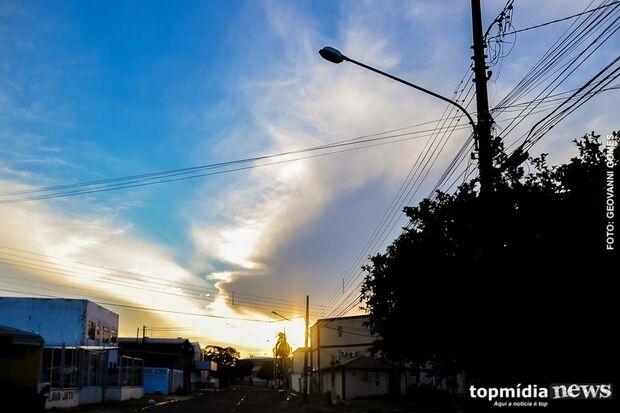 Previsão de sol e muito calor nesta quarta-feira em Campo Grande