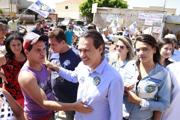 No Universitário, Marquinhos promete melhorias no trânsito e na segurança