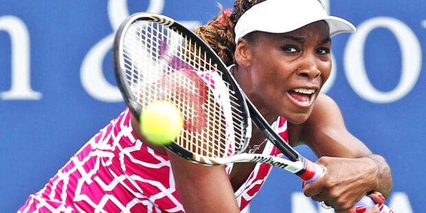 Venus Williams estreia em Hong Kong com vitória sobre japonesa