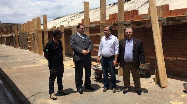 Diretoria da Agepen visita presídios da fronteira sul do Estado