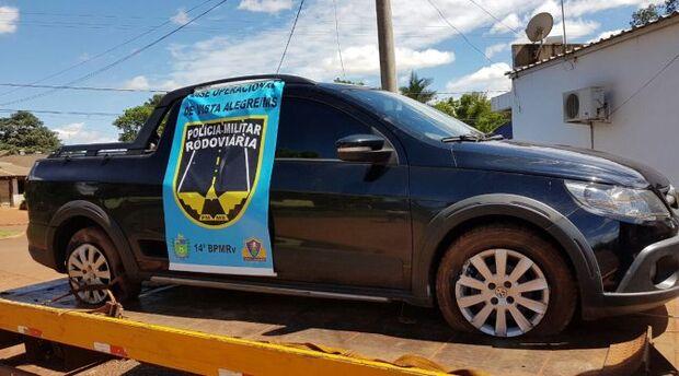 Polícia Militar Rodoviária apreende veículo com identificação adulterada