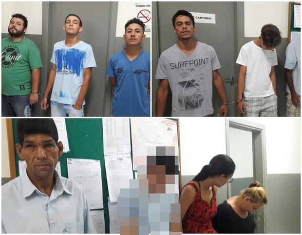 Polícia apreende um e prende nove integrantes do PCC em MS