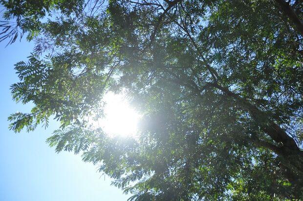 Feriado de céu aberto e de muito calor em Campo Grande
