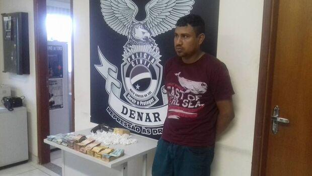 Polícia prende um dos maiores traficantes da Nhá-Nhá, em Campo Grande