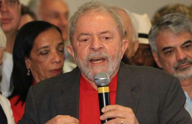 Lula diz ser vítima de 'pacto quase diabólico'
