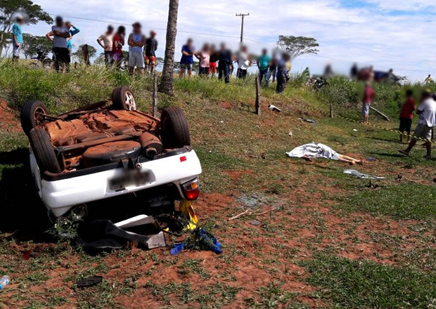 Funcionário de posto de combustível morre em acidente na MS-147