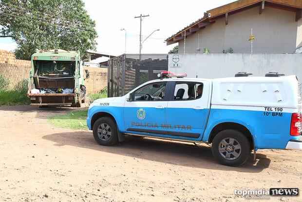 Gari encontra granada em caminhão de lixo na Capital