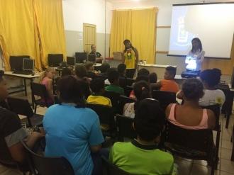 Agetran leva atividade de conscientização no trânsito à Comunidade Negra São João Batista