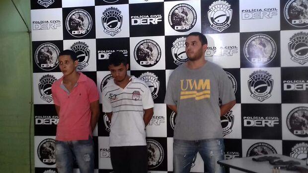 Trio que roubou R$78 mil de surpermecado em Bandeirantes é preso na Capital