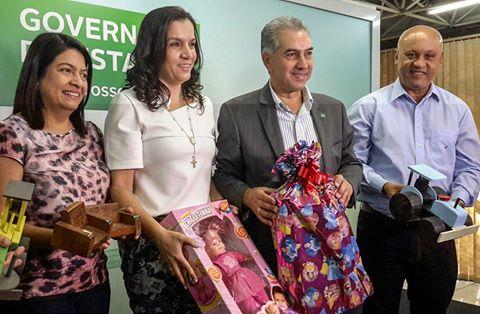 Meta do Governo é arrecadar 10 mil brinquedos com campanha natalina