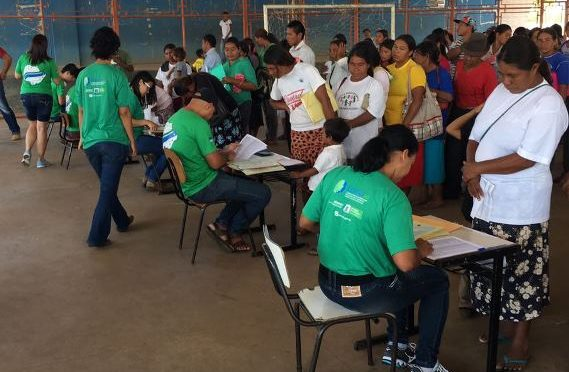 Comitê entrega 615 Registros Civis aos indígenas de Laguna Carapã e Coronel Sapucaia