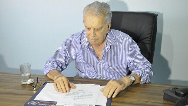 Ex-presidente da Federação de Futebol de MT, Carlos Orione morre aos 79 anos