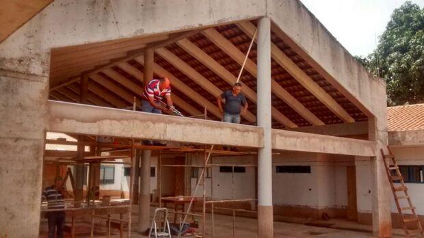 Obras do Ceinf Tijuca II estão com 80% executadas, afirma prefeitura