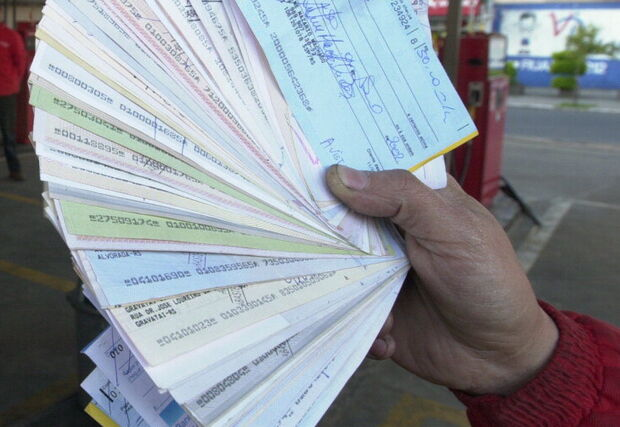 País tem recorde de cheques sem fundo para mês de outubro