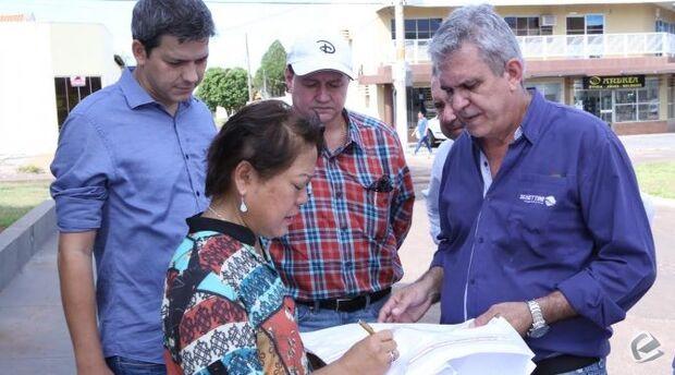 Em Coxim, secretário de Infraestrutura promete obras para aeroporto