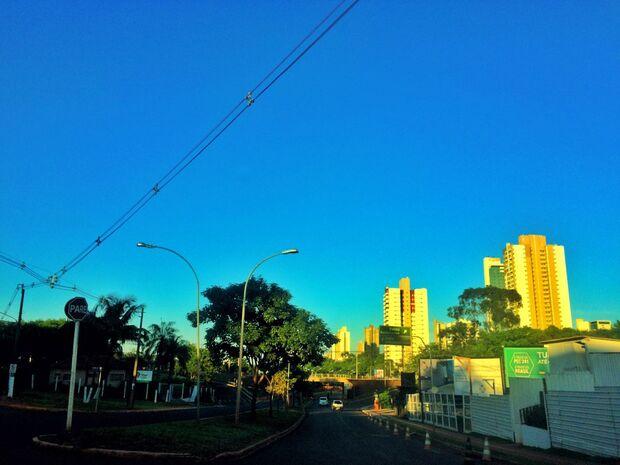 Previsão de dia quente com pancadas de chuva em Mato Grosso do Sul