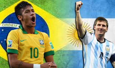 Brasil e Argentina jogam hoje pelas eliminatórias da Copa de 2018