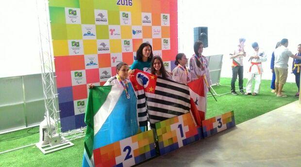 Judocas de Mato Grosso do Sul ganham quatro medalhas nas paralimpíadas