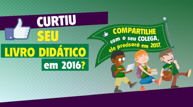Educação inicia campanha de devolução dos livros didáticos nas escolas da rede estadual
