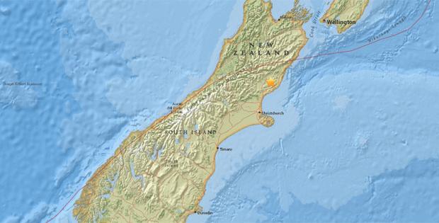 Forte terremoto atinge a Nova Zelândia