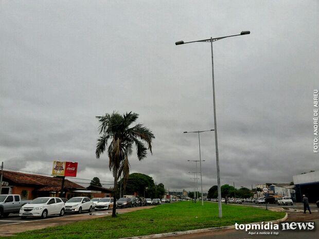 Previsão de mais chuva em Campo Grande nesta quinta-feira