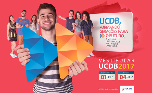 Inscrições para o vestibular da UCDB se encerram hoje
