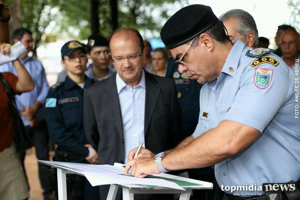 PM reforça policiamento no centro da Capital com viaturas novas e 400 militares
