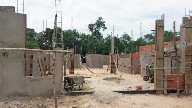 Em Corumbá, escola é costruida na Colônia Bracinho após acordo com MPF