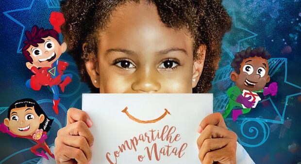 Campanha Compartilhe o Natal aceita doação de presentes até a próxima semana