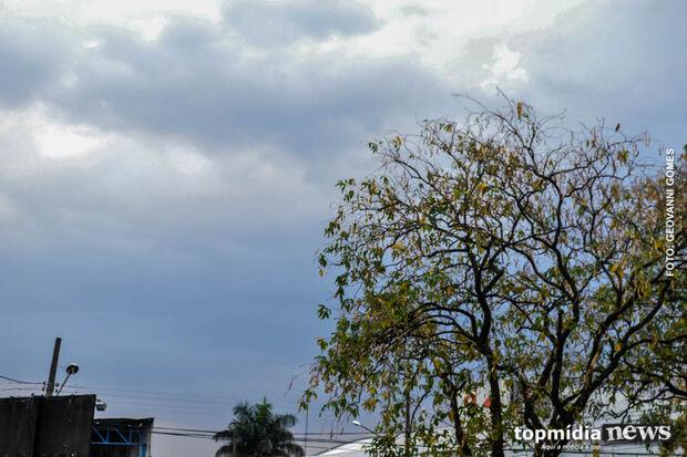 Previsão de céu parcialmente nublado em Campo Grande