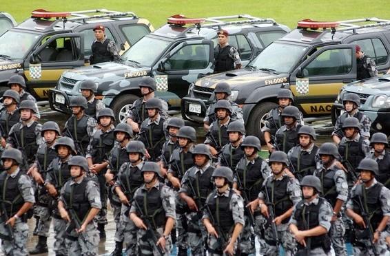 Abertas inscrições para PMs interessados em ingressar na Força Nacional