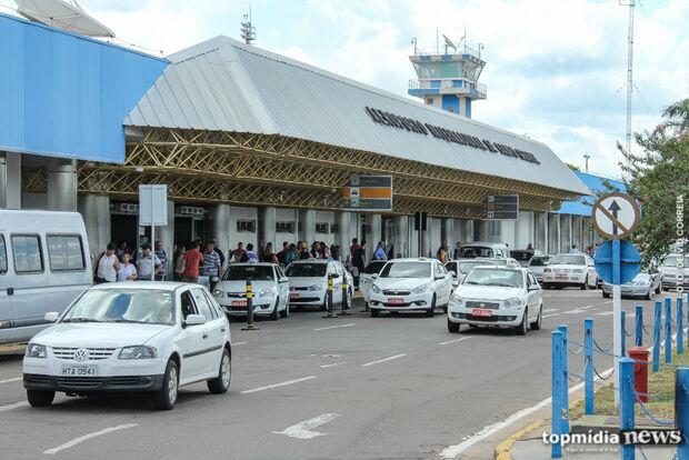 Aeroporto opera sem restrições nesta segunda-feira