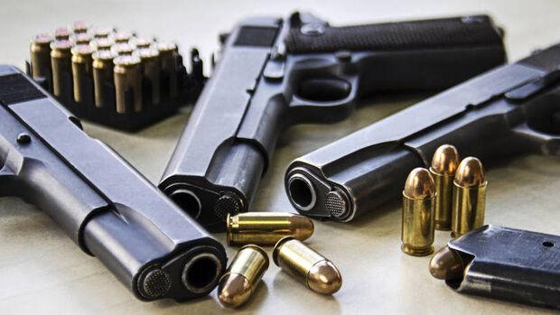 Armas de fogo apreendidas serão doadas a órgãos de segurança pública