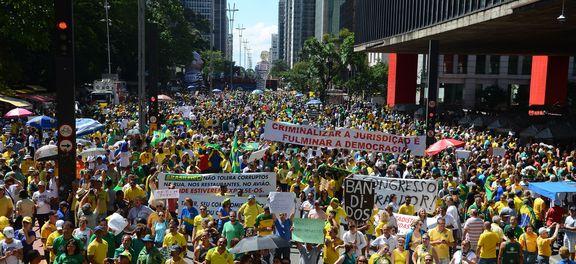 Manifestações demonstram força da democracia, diz Palácio do Planalto