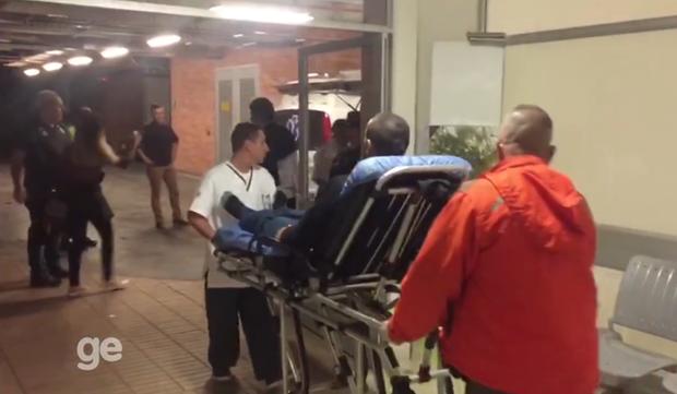 Ruschel e Henzel não tiveram medo de voar novamente, revela médico