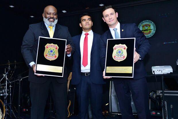 Policiais Federais eleitos os vereadores mais votados recebem homenagem