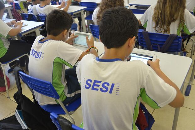 Escolas do Sesi no Estado estão com o período de matrículas aberto