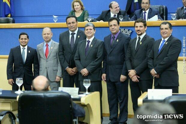 Com João Rocha reeleito, Câmara define Mesa Diretora