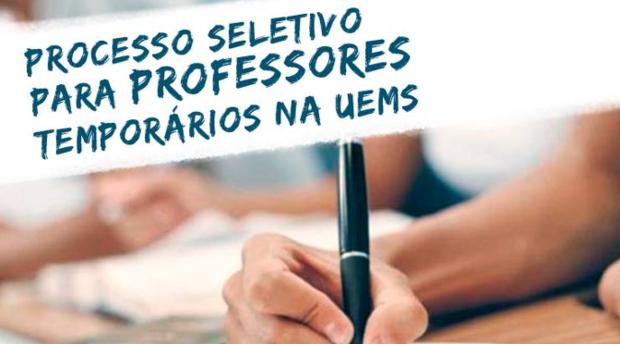 UEMS está com inscrições abertas para seleção de professores temporários