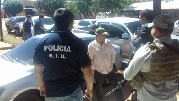 Sócio de chefe do PCC no Paraguai é preso na fronteira