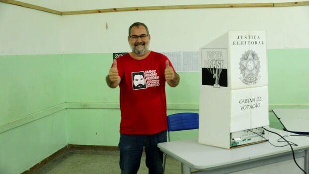 Em Mundo Novo, Amaducci agradece eleitores e ressalta defesa da democracia