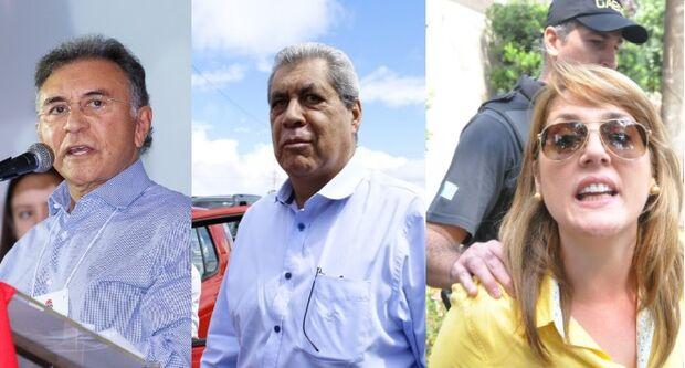 Odilon rasga promessa e se alia com MDB de Puccinelli, Andreia Olarte e Siufi