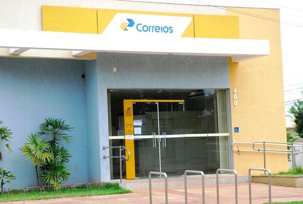 Alarme dispara e evita furto de agência dos Correios em MS; suspeitos fogem