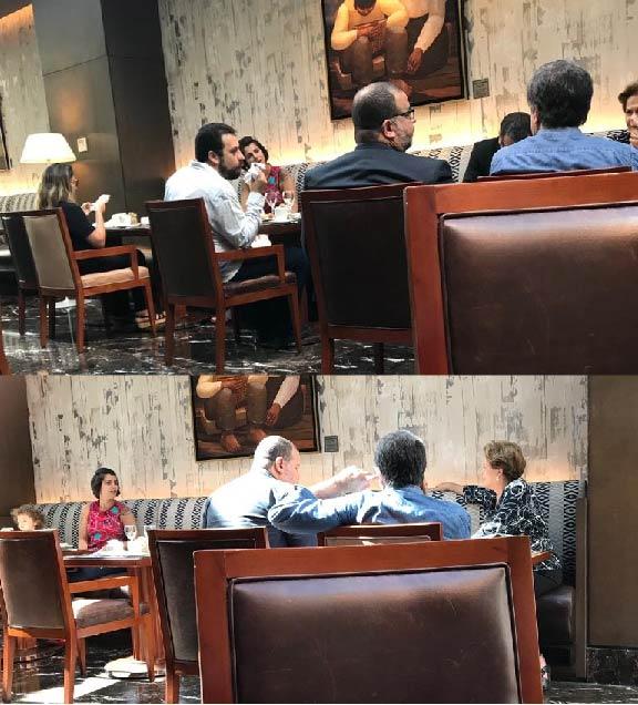 Boulos, Dilma e Manuela fazem 'resistência' em hotel 5 estrelas