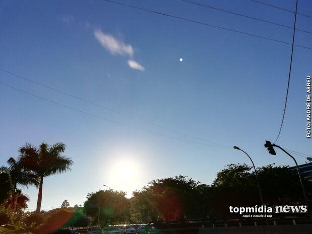 Frio que é bom nada! Campo Grande tem calor de rachar, mas meteorologia insiste em frente fria